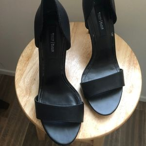Black heels 3.5 inches